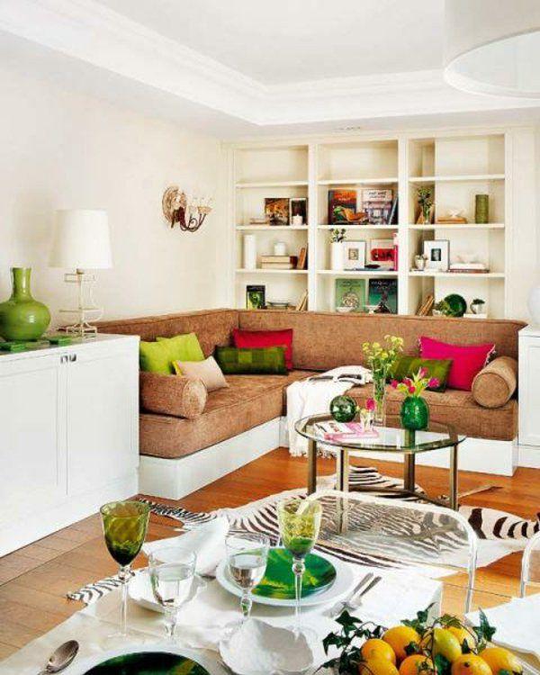 Offener Wohnplan Kleine Räume Einrichten Wohnzimmer Esszimmer