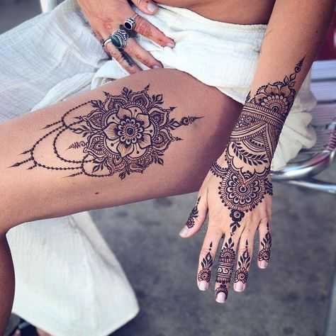 Photo of 60+ STUNNING HENNA TATTOO DESIGN BECOMES A TREND – Page 17 of 65 – Breyi