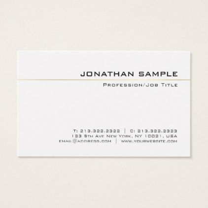 Professional chic gold striped simple plain luxury business card professional chic gold striped simple plain luxury business card luxury business cards reheart Images