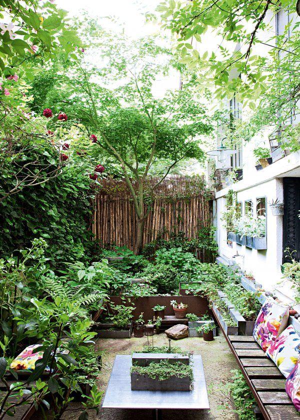 Rendre Une Cour Chaleureuse En 5 Lecons Jardins Jardin De Ville