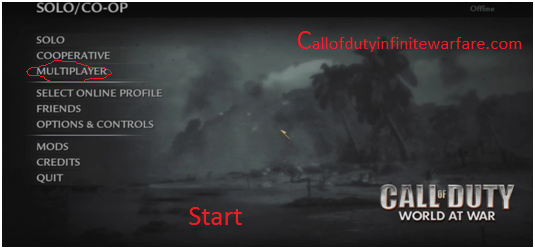 Call Of Duty World At War Zombies Apk: This Is After Successfully Installation Process On Your PC