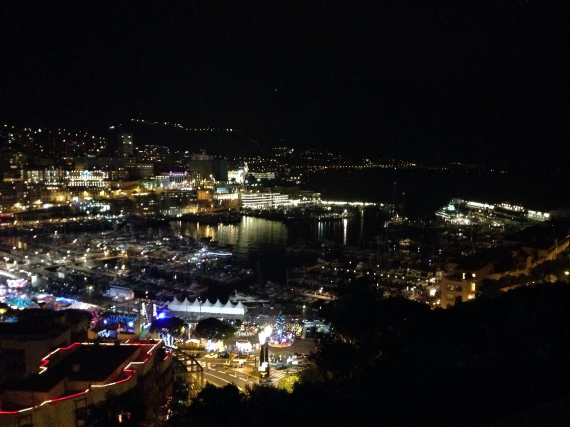 Monaco a noite
