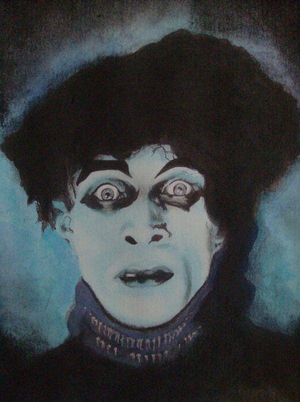 Conrad Veidt As Cesare The Somnabulist In Robert Wiene S Das