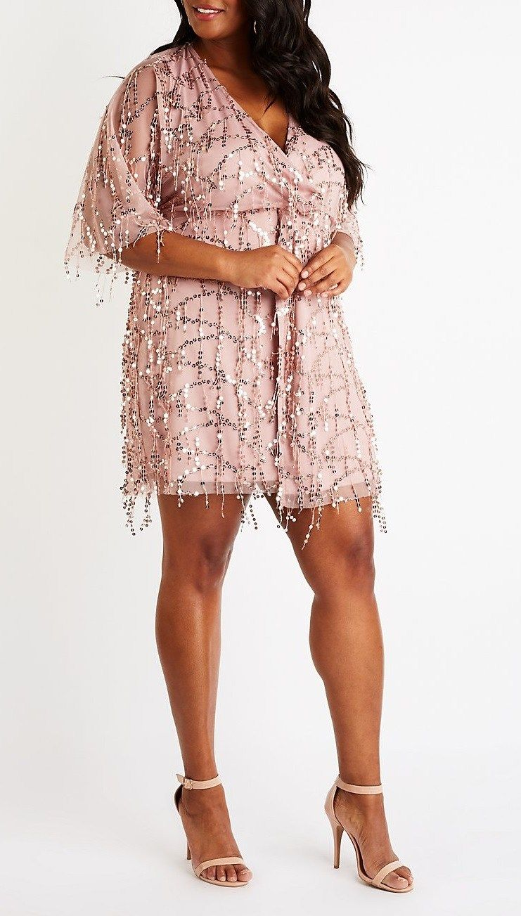 45 Plus Size Wedding Guest Dresses With Sleeves Alexa Webb Plus Size Wedding Guest Dresses Plus Size Outfits Guest Dresses [ 1303 x 741 Pixel ]