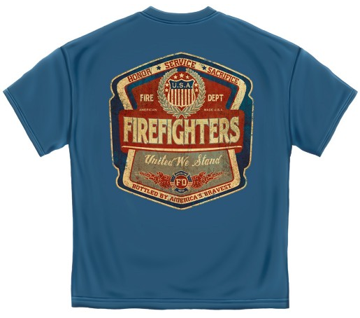 ae0dc90e103 Honor Service Sacrifice Firefighters United We Stand T-Shirt ...