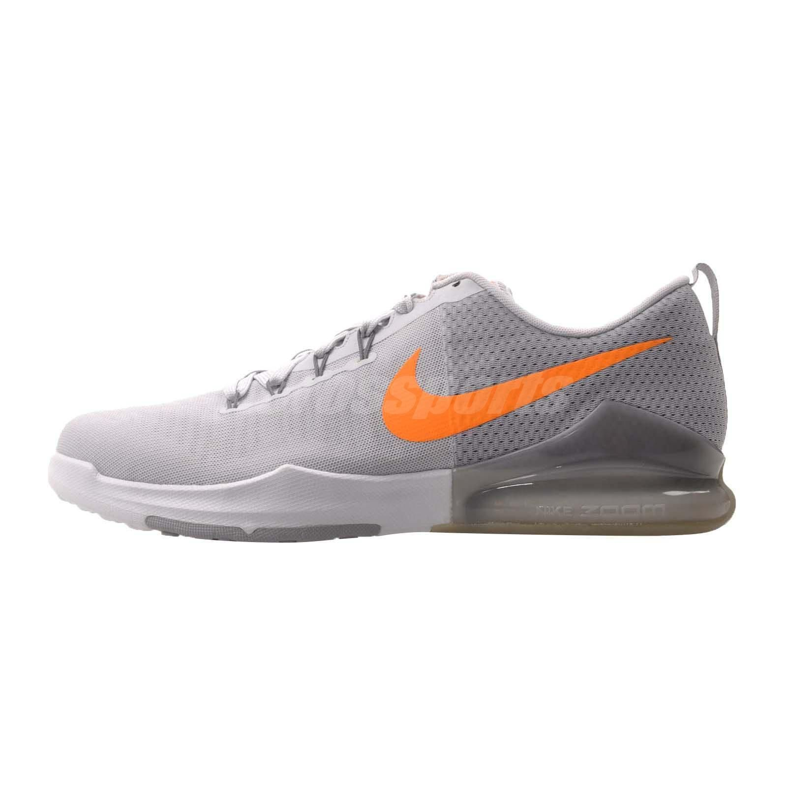 054f0ddc7 Nike Zoom Train Action Mens Cross Training Shoes Platinum Grey 852438-004