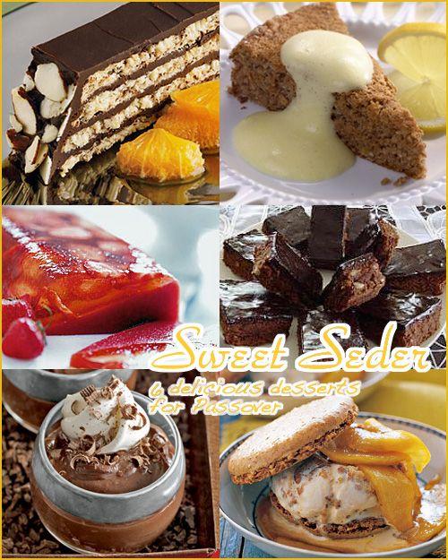 Six Delicious Passover Desserts