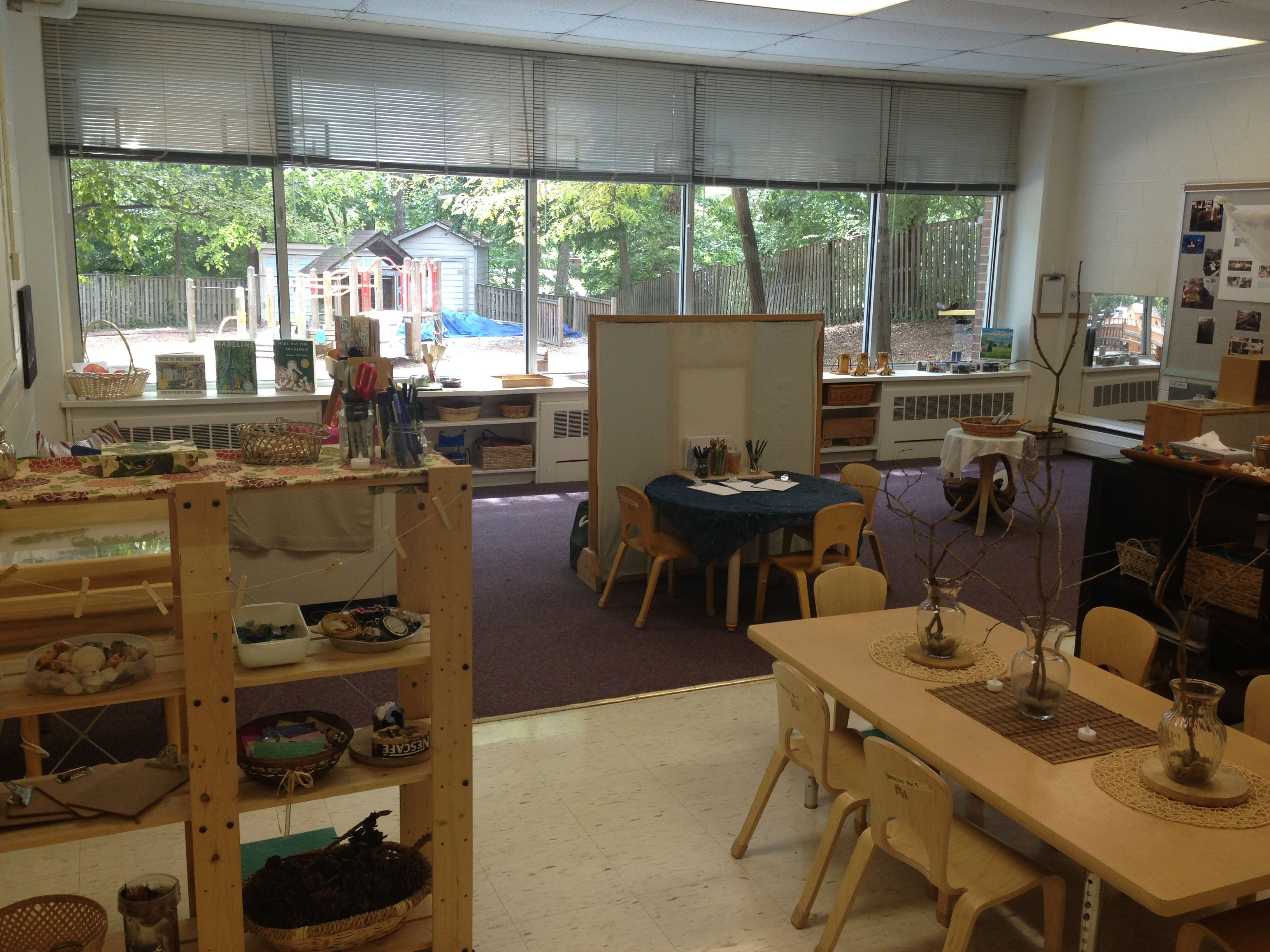 Reggio Inspired Clroom Temple Sinai Nursery School Washington Dc