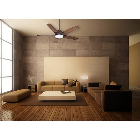 Casablanca Zubio 56 In Indoor Ceiling Fan With Light And Wall Control Industrial Rust Minimalist Living Room Decor Minimalist Living Room Modern Living Room Interior