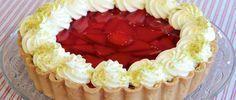 Tarta de frutillas por el mejor chef pastelero.OSVALDO GROSS