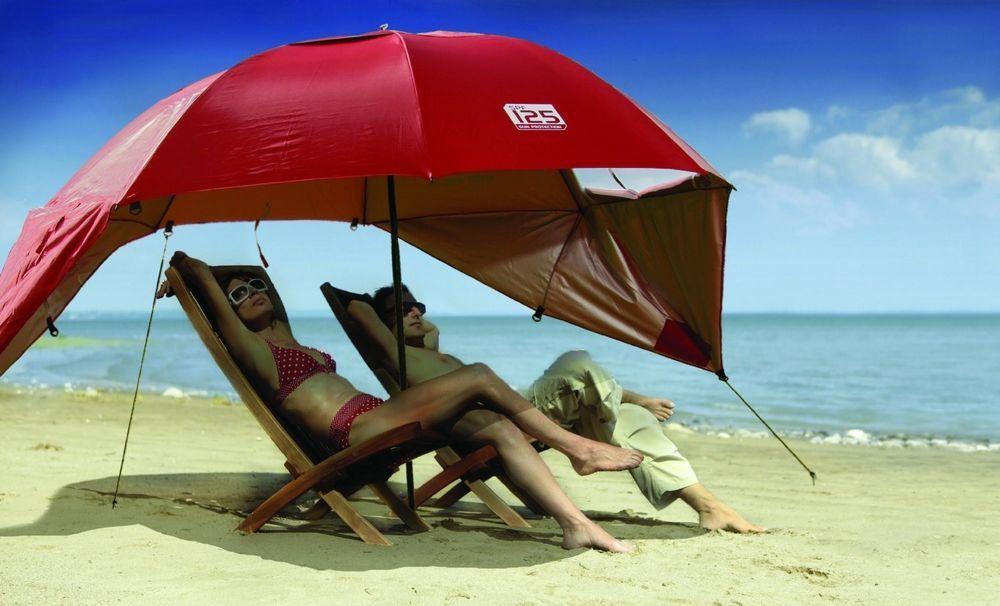 Beach Canopy Umbrella SportBrella Portable Sun Wind Rain
