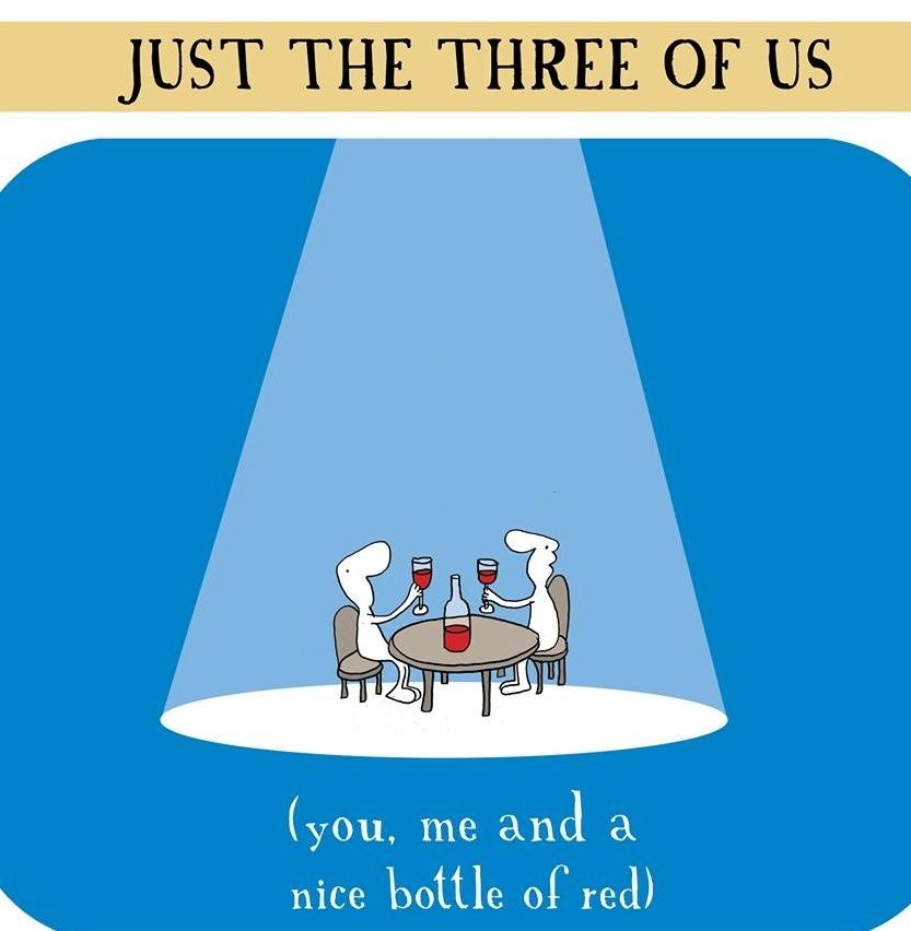 #just the three of us