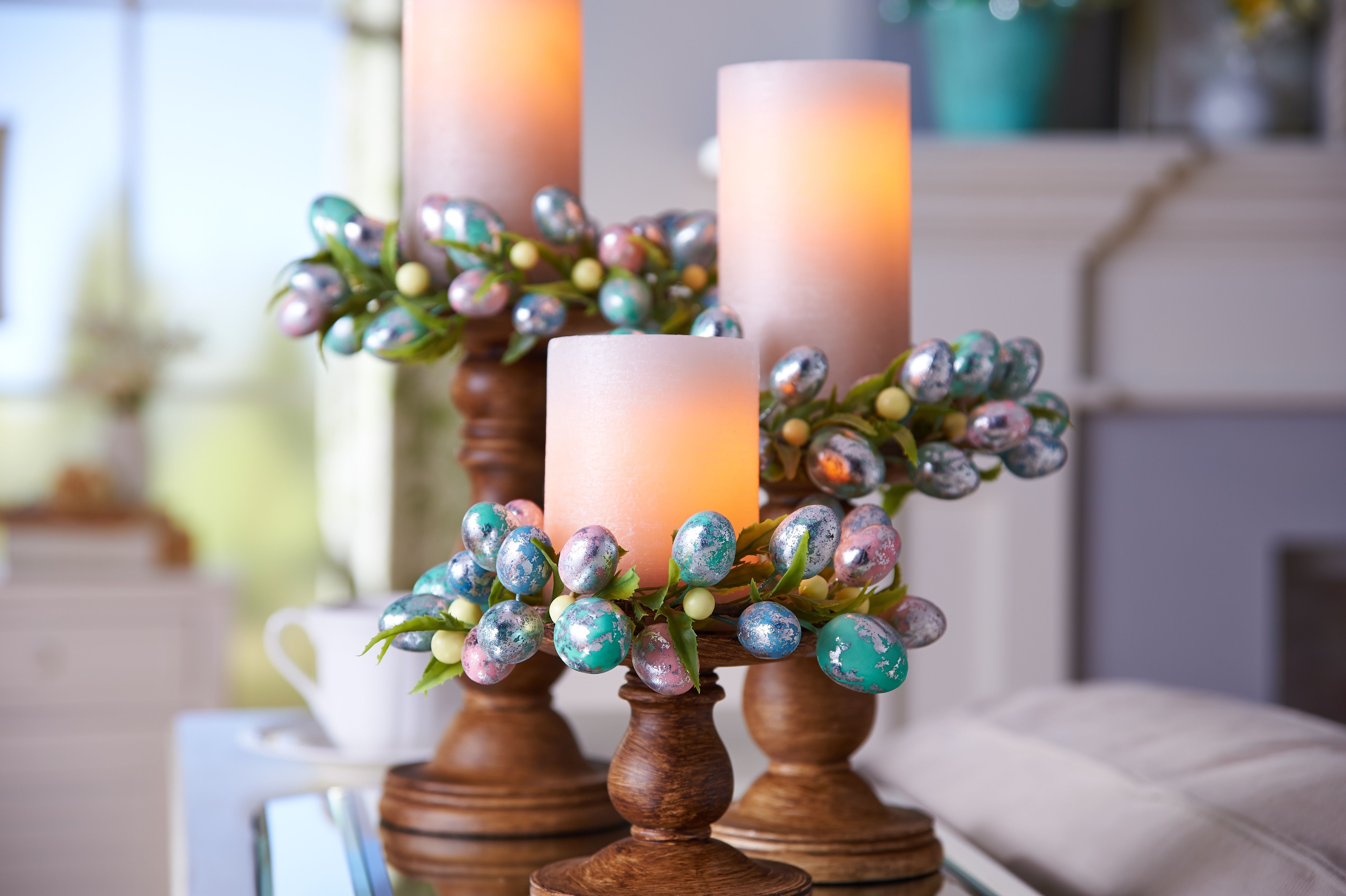 decor and with candle pin decorating tgn rings candles flameless