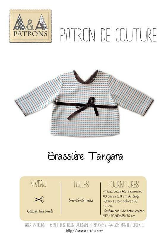 251af24254d9b Patron de couture brassière bébé tangara A A Patrons