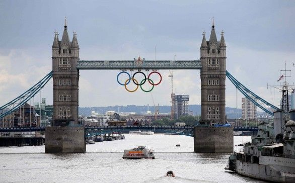 London ready for the Olympics! #loveit
