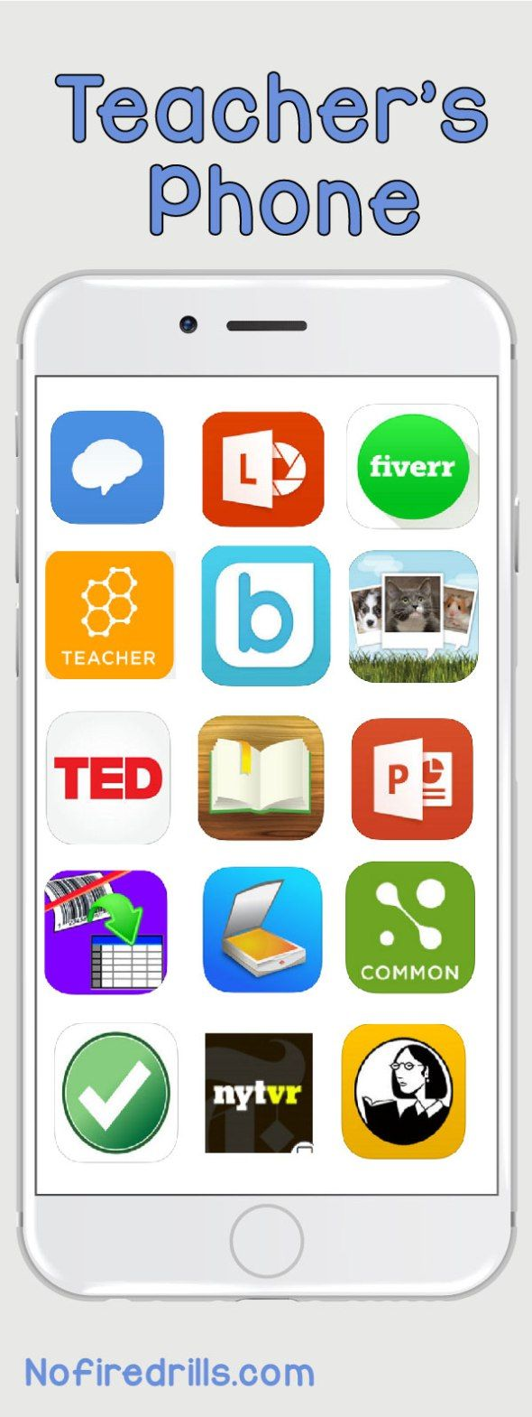 What's on your phone Apps for teachers, Teaching technology