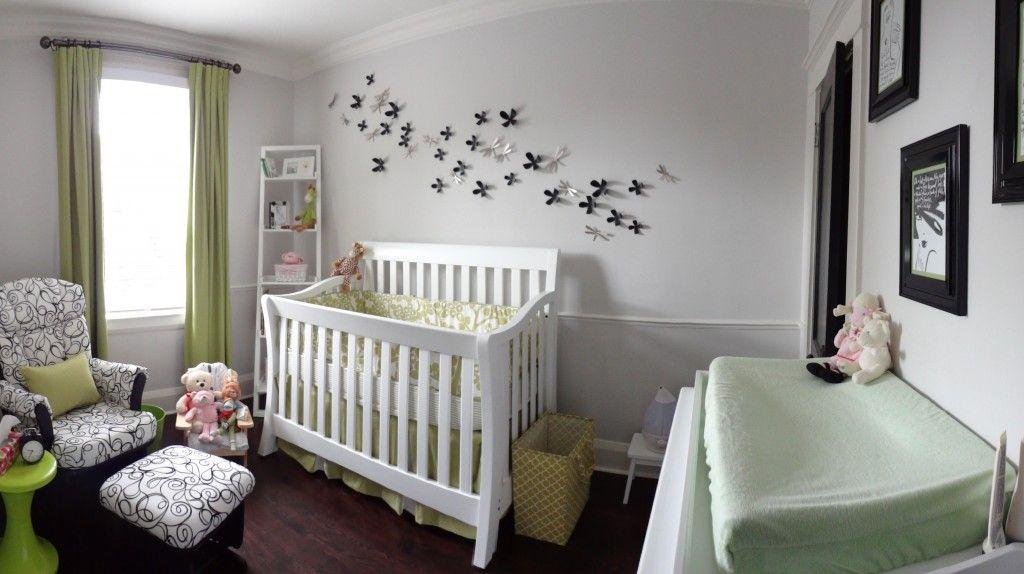 A Whimsically Elegant Nursery Baby Nursery Pinterest