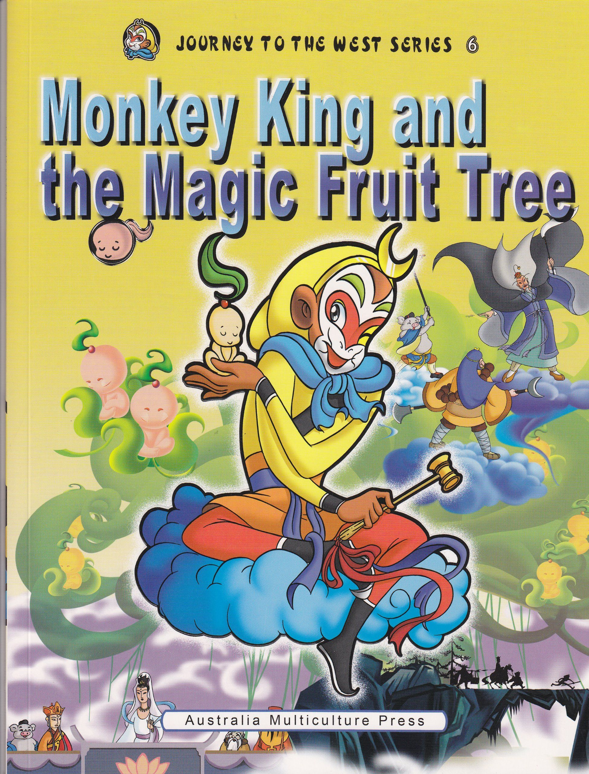 Monkey King And The Magic Fruit Tree Journey To The West Series 6 English Version Price 10 0 Monkey King Journey To The West Monkey