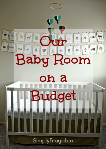 Our Baby Room on a Budget | Cheap baby room ideas, Baby room diy