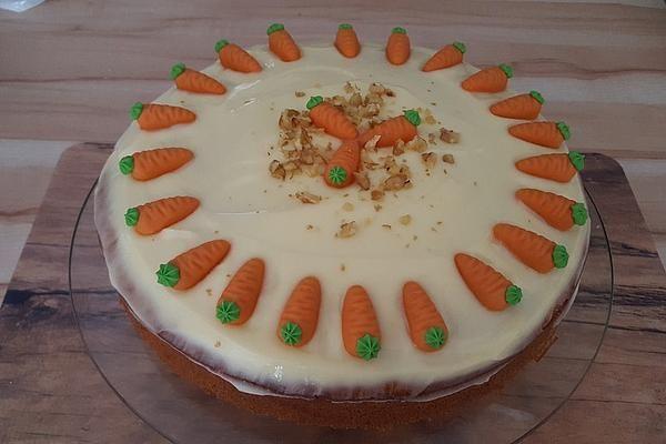 Karottenkuchen, Rüblikuchen oder Möhrenkuchen von Chefkoch-Video | Chefkoch