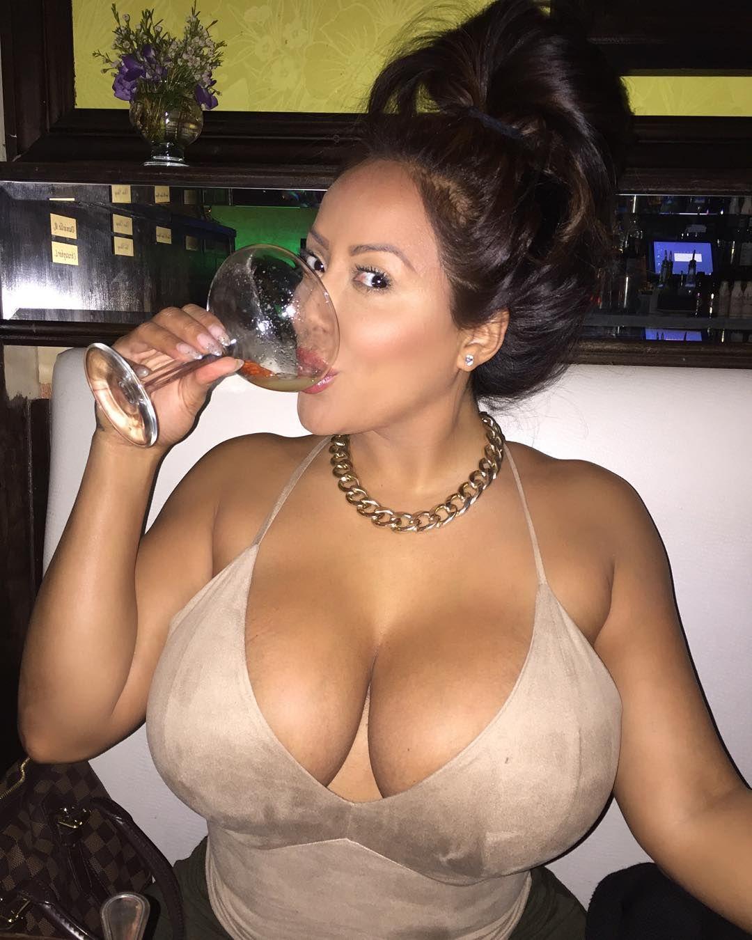 Tits big black