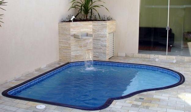 piscinas pequenas Piscina pequeña en casa Pinterest Piscinas