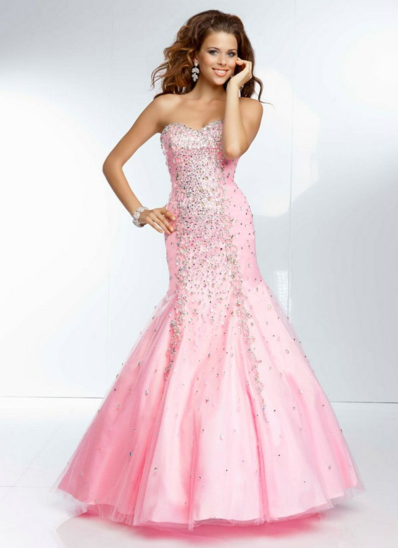 Pink Sparkly Dress | All Gowns | Pinterest | Pink sparkly dress ...