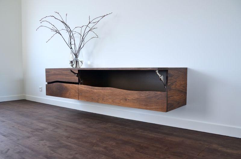 Houten tv meubel zwevend google zoeken inspiratie for Danish design meubels