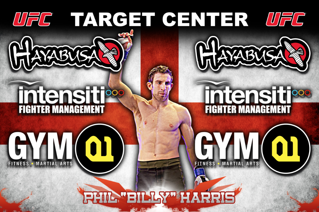 Phil Harris UFC on FX 5 Fight Banner #MMA | Mma, Banner, Banner design