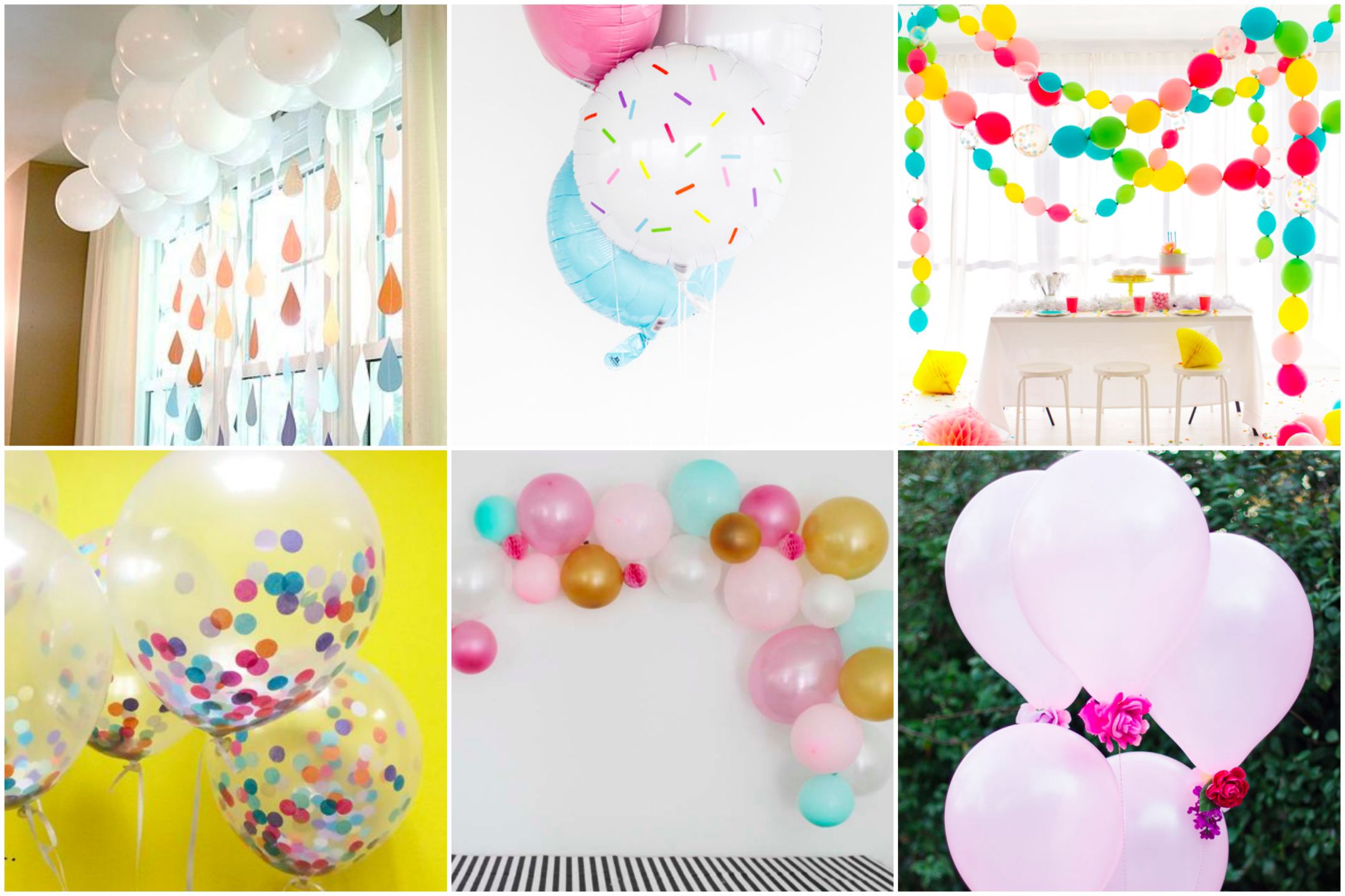Diy Baby Shower Series Ideas For Creatively Arranging Balloons As
