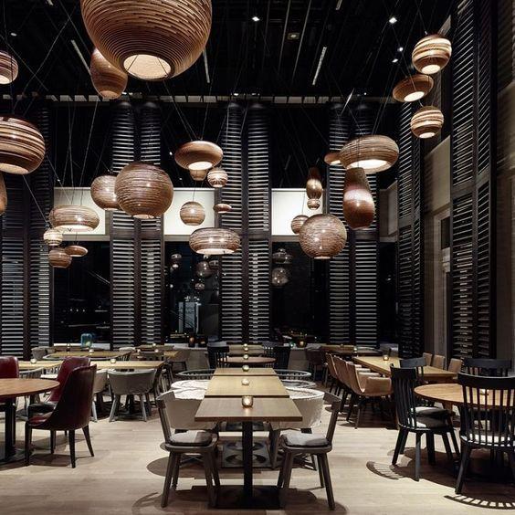 get to know these restaurant design inspirations interiordesign rh pinterest com
