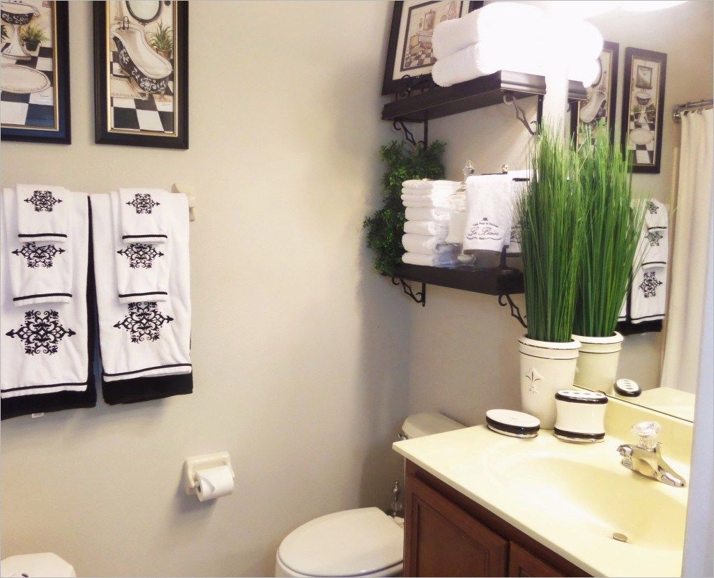 Bathroom Accessories Decorating Ideas Guest Bathroom Decor