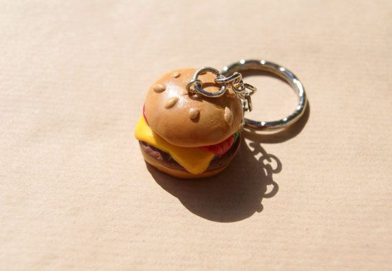 Cheeseburger keychain from TanyaLiss, CHF6.00
