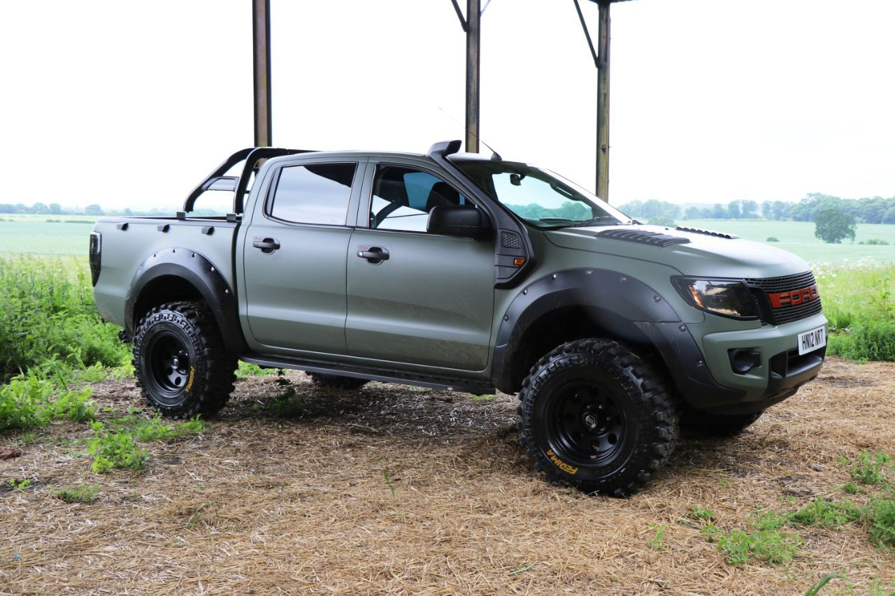 Ford Ranger 2 2 Pick Up Double Cab Camo Seeker Raptor Edition 5 In Build Order Now Pick Up Diesel White Carros