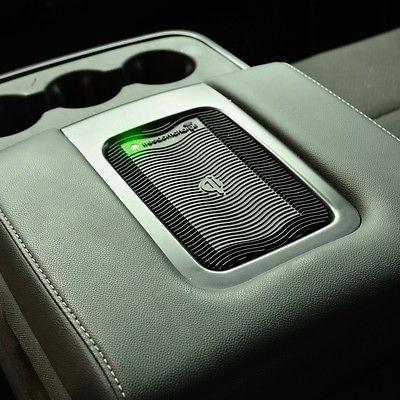 2014 Bench Seat Chevy Silverado Qi Wireless Mobile Phone