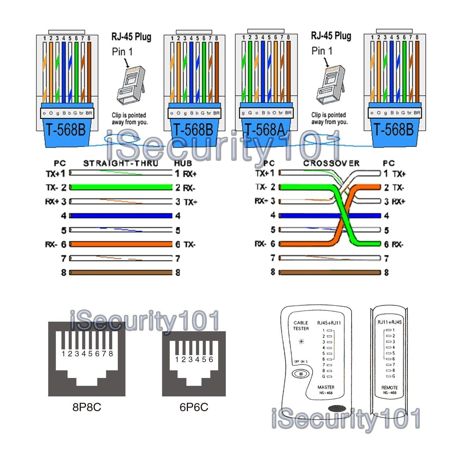 Cat5e Wiring Diagram Images Valid Best B Throughout Wire Ethernet Dish Hopper Joey