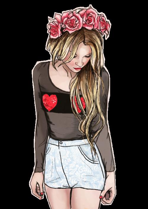 Amazing Drawing Via Tumblr Girl Drawing Amazing Drawings Drawings