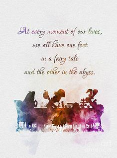 One Foot in a Fairy Tale Art Print by My Inspiration