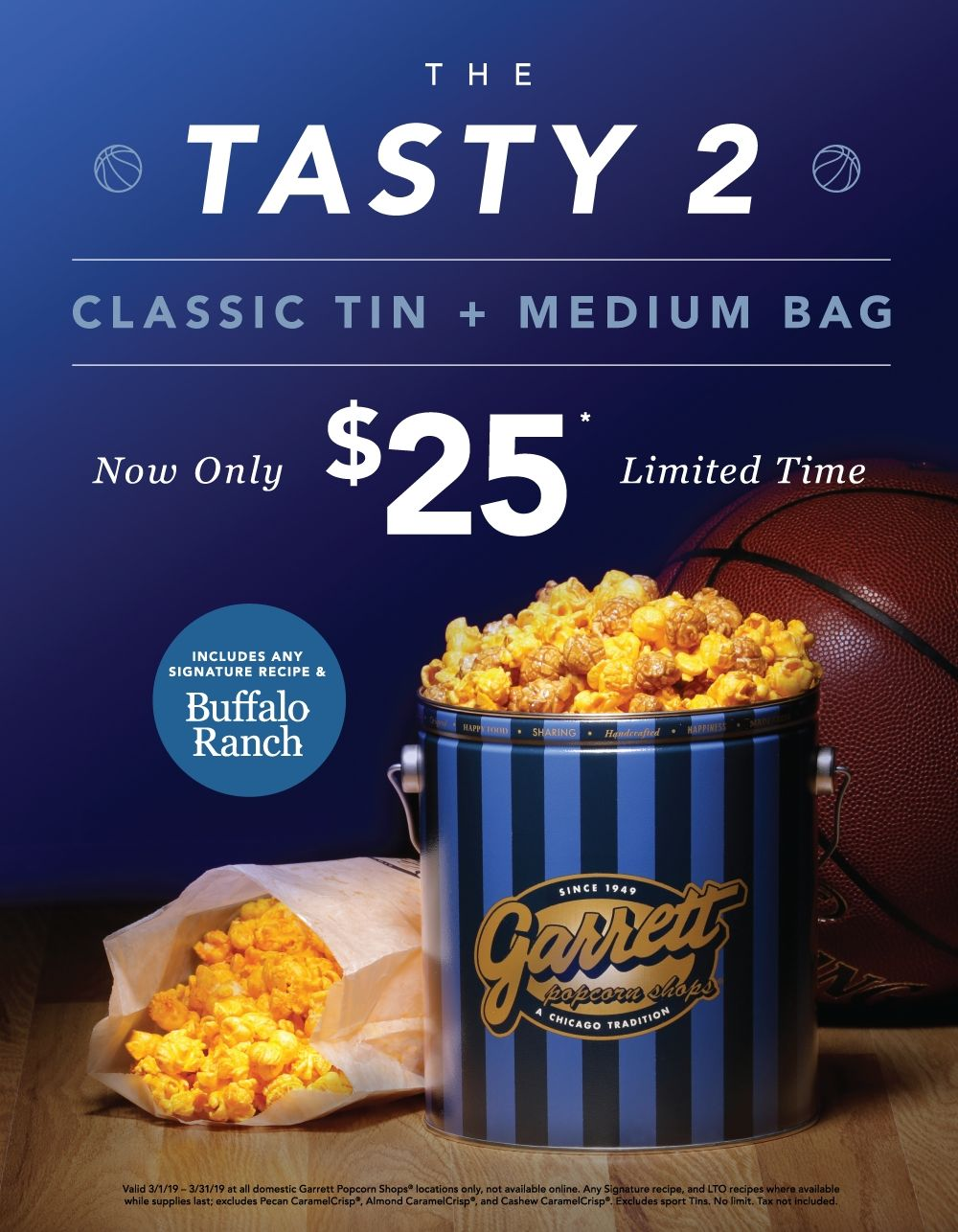Now open in O'Hare's Terminal 5...Garrett Popcorn Shops