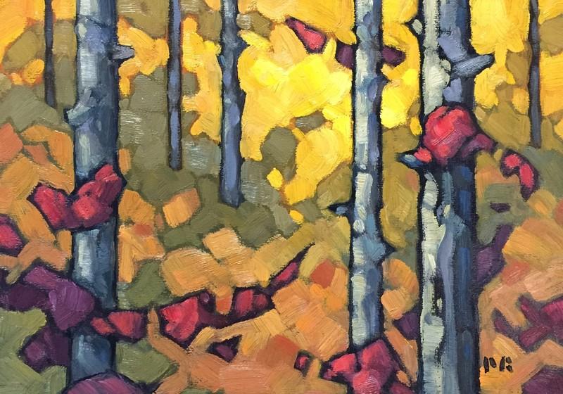 Bush Study #4 • Philip Buytendorp • Peninsula Art Gallery, Sidney BC
