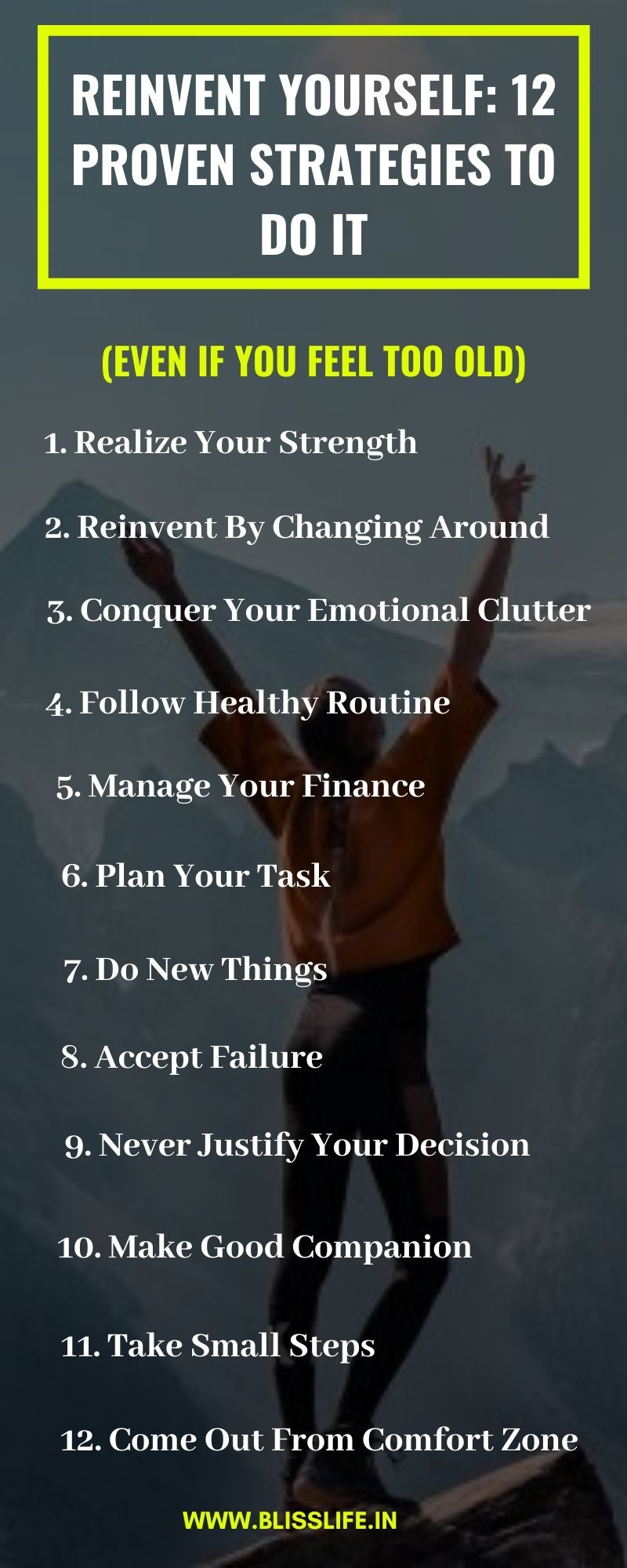 Reinvent Yourself 12 Proven Strategies to Do It (Even If
