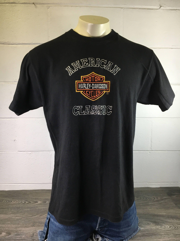 5bb71764 HARLEY DAVIDSON Shirt Sydney Australia 90s Vintage Motorcycle American Classic  Tshirt Single Stitch Sewn HD Bike