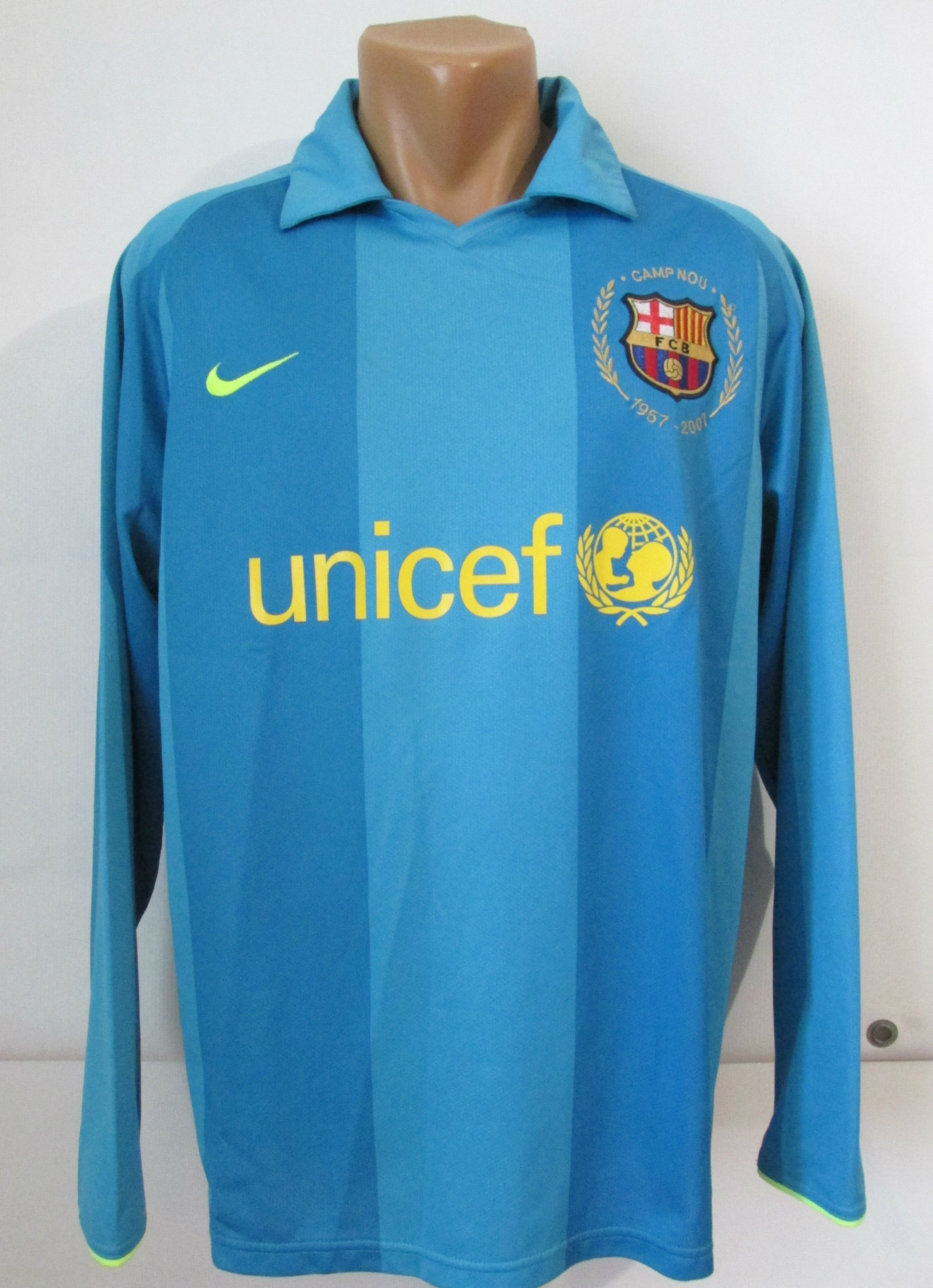 c2d5fe93803 Barcelona 2007/2008 away player issue football shirt by Nike FCB Barca  FCBarca jersey camiseta soccer #barcelona #barca #fcb #nike #playerissue  #longsleeve ...
