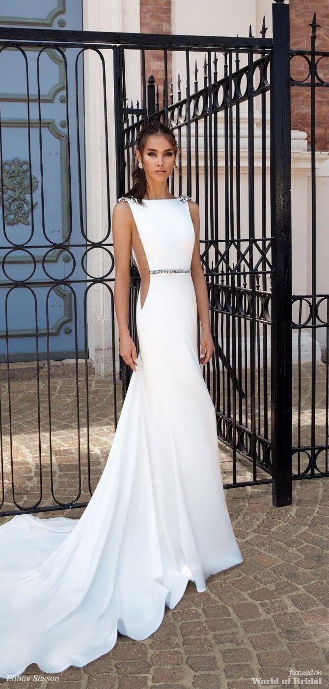 Romona keveza lace wedding dress october 2018 Elihav Sasson  Wedding Dresses Royalty Girls Collection