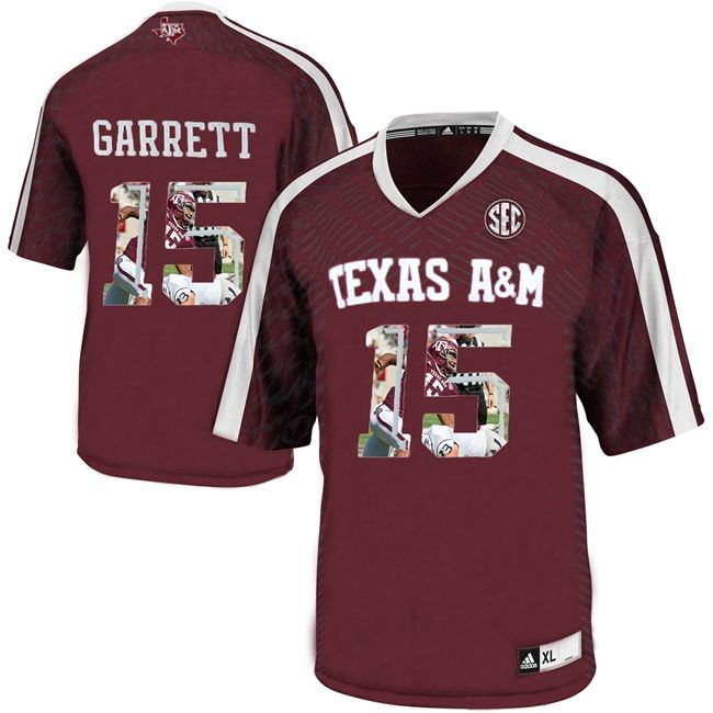 competitive price 763e1 0c7fa Texas A&M Aggies Myles Garrett 15 College Football Authentic ...