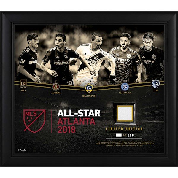 6342ee666 Fanatics Authentic 2018 MLS All-Star Game Framed 15