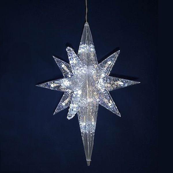 65 20 lighted led white bethlehem star hanging christmas 65 20 lighted led white bethlehem star hanging christmas decoration aloadofball Choice Image