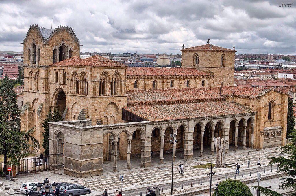 Basílica De San Vicente ávila Romanische Kunst