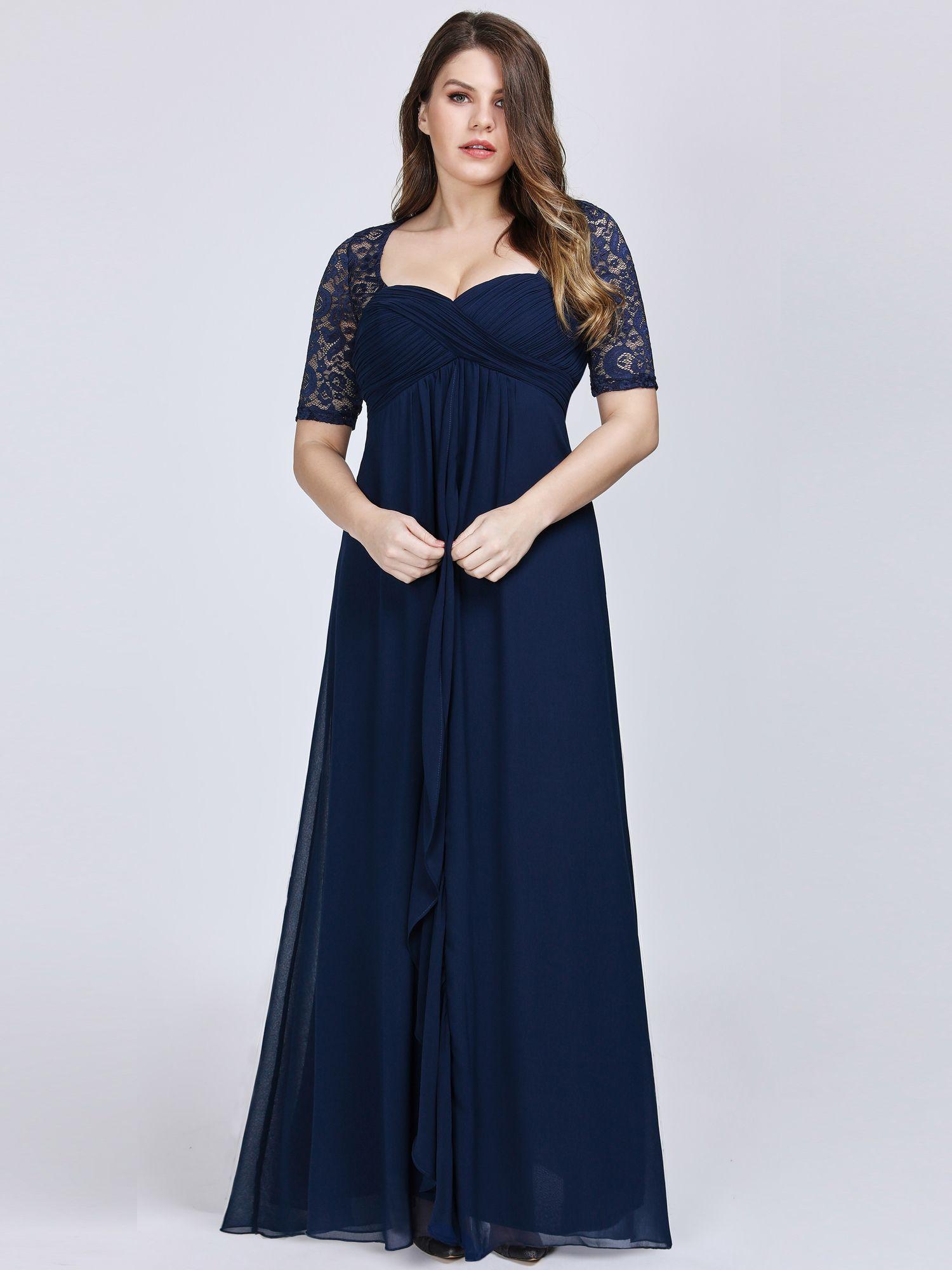 Ever Pretty Ever Pretty Womens Elegant Short Sleeve Evening Dresses For Women 07625 Navy Blue Us22 Walmart Com In 2021 Evening Dresses Plus Size Evening Dresses Empire Waist Evening Dress [ 2000 x 1500 Pixel ]
