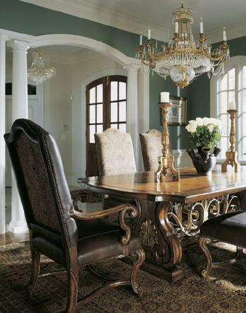 Elegant Formal Dining Room Furniture Tables